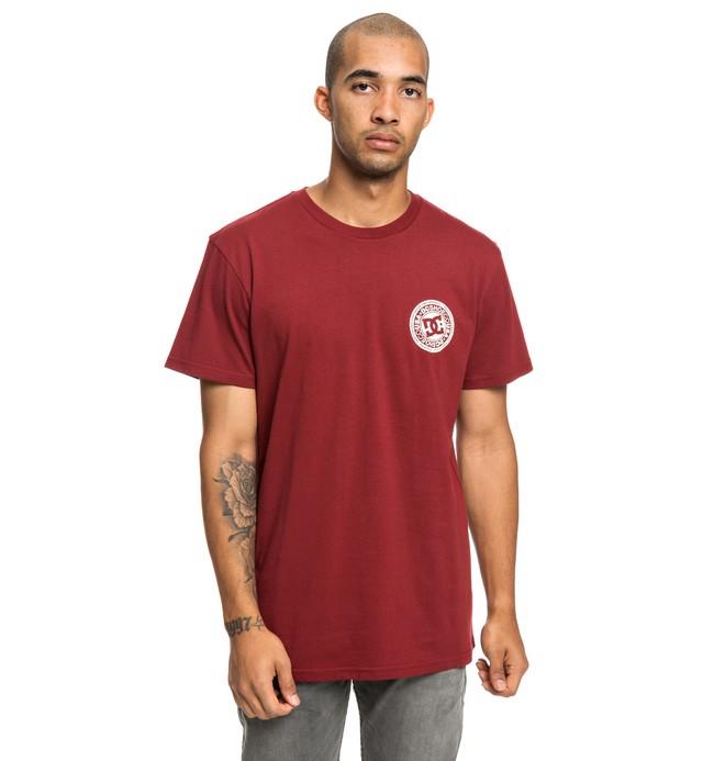 0 Circle Star - T-shirt pour Homme Rouge EDYZT03903 DC Shoes