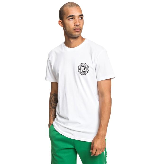 0 Circle Star - Maglietta da Uomo White EDYZT03903 DC Shoes