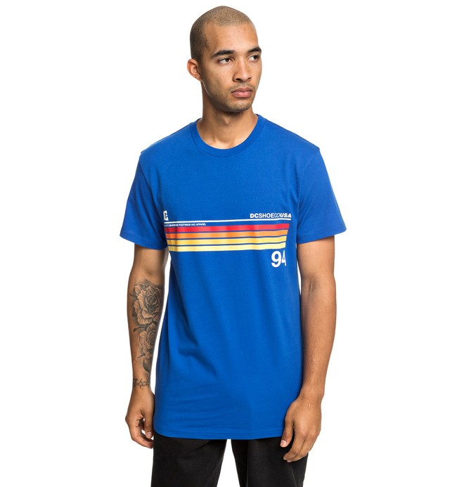 0 Crasingle - T-Shirt für Männer Rot EDYZT03912 DC Shoes