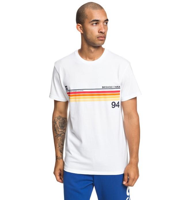0 Crasingle - T-shirt pour Homme Blanc EDYZT03912 DC Shoes