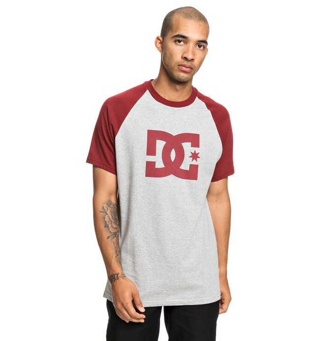 0 Star Tee Red EDYZT03917 DC Shoes