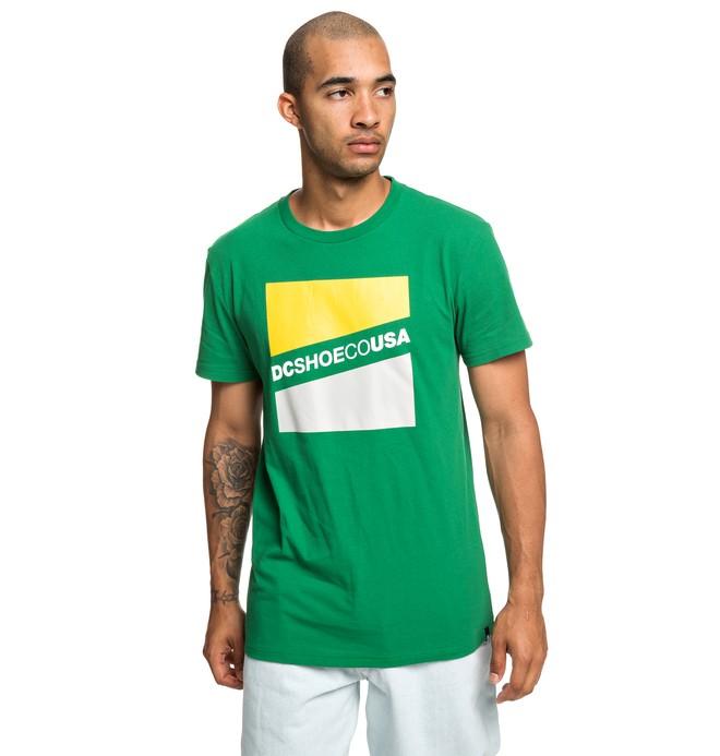 0 Slant - T-shirt pour Homme Vert EDYZT03936 DC Shoes