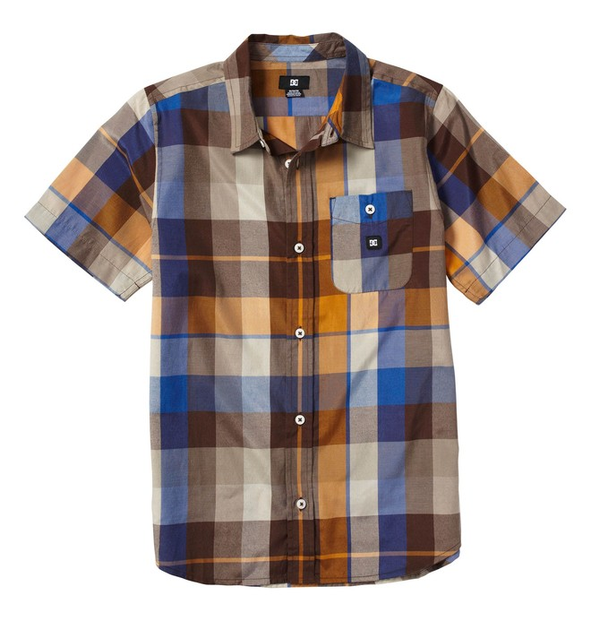 0 Kid's Woodwarth Shirt  K1820025 DC Shoes