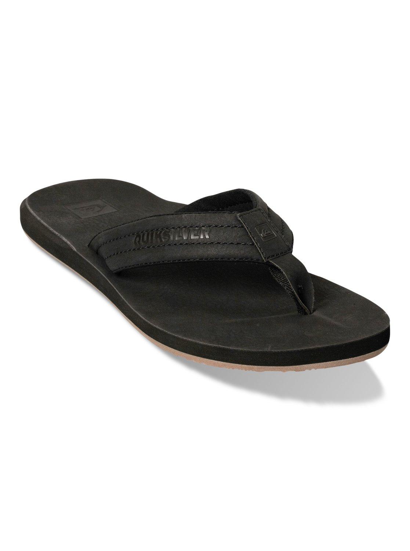 Quiksilver Men's Carver Nubuck Flip-Flop Sandals QrtkQ4
