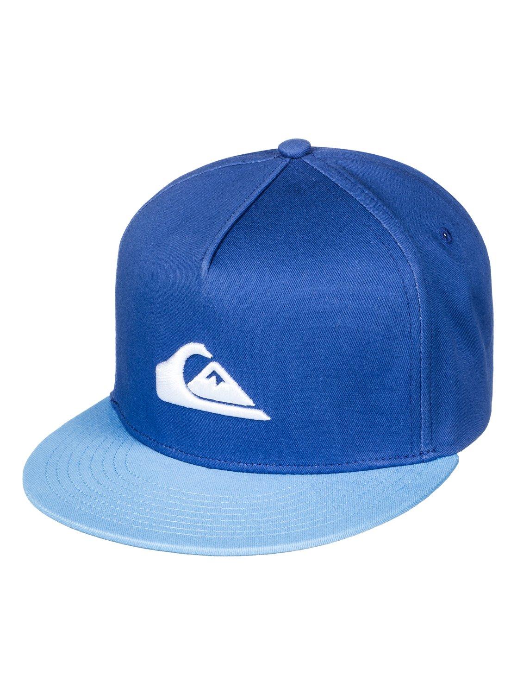 0e68a6abf92 0 Stuckles - Snapback Cap for Boys 8-16 Blue AQBHA03282 Quiksilver