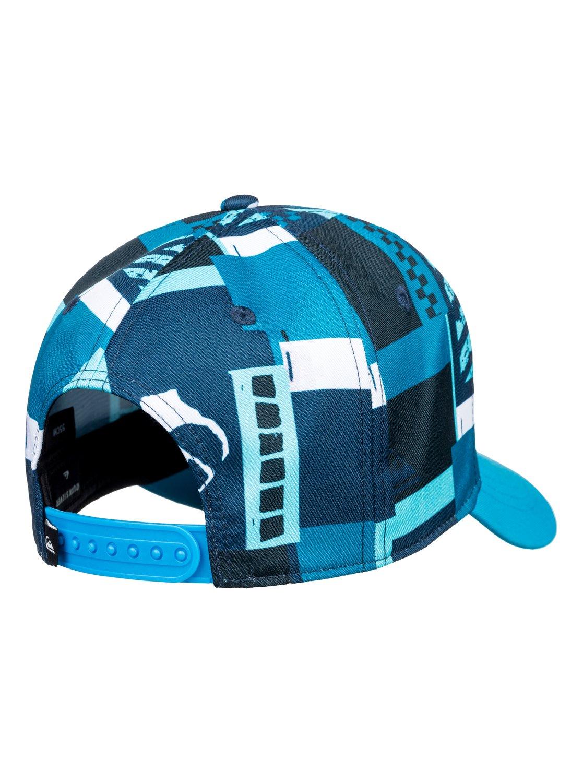 2 City Blocker - Snapback Cap for Boys 8-16 Blue AQBHA03336 Quiksilver a4894dc105b