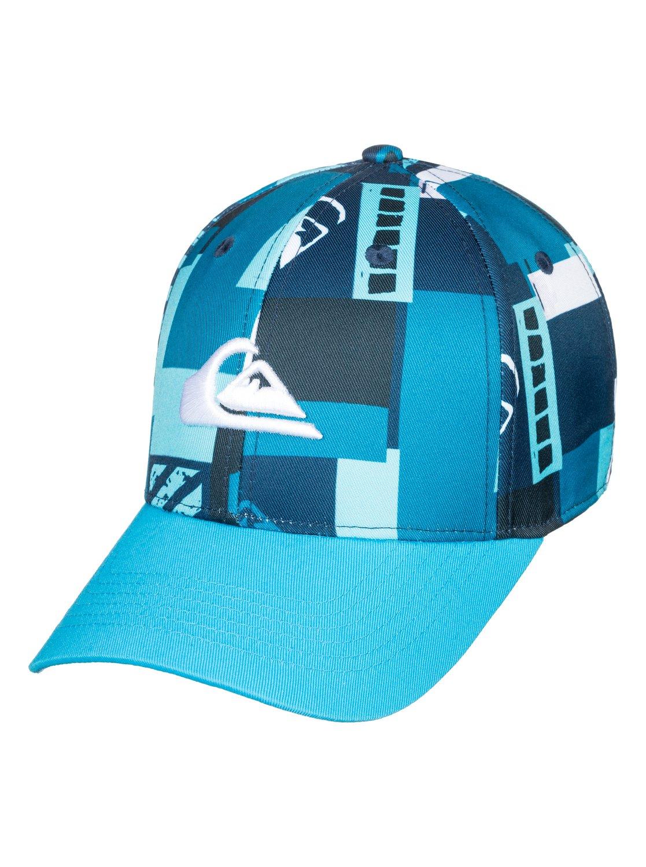 0 City Blocker - Snapback Cap for Boys 8-16 Blue AQBHA03336 Quiksilver 3f3c145b6a1