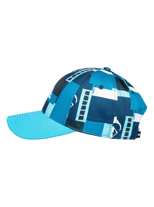 1 City Blocker - Snapback Cap for Boys 8-16 Blue AQBHA03336 Quiksilver e38a2b14f2d