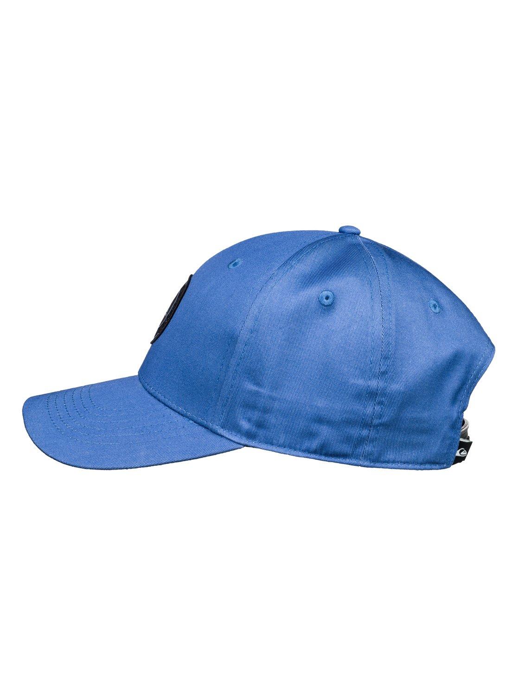 1e495f931cf5e 1 Decades Plus - Snapback Cap for Boys 8-16 Blue AQBHA03357 Quiksilver