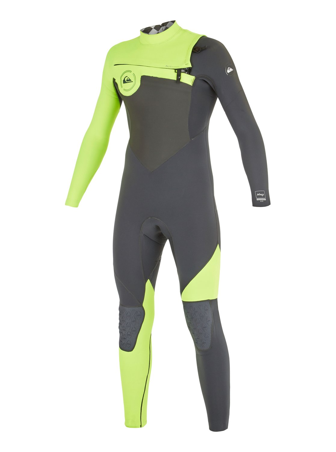 8f1cdcfbdf8 0 AG47 Performance 4 3mm - Chest Zip Wetsuit AQBW103020 Quiksilver