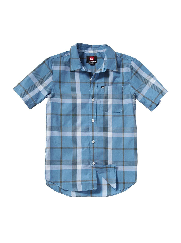 Quiksilver Mens Konga Pass Button Down Flannel Shirt