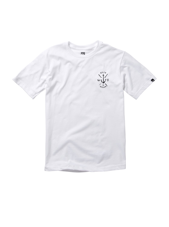 Quiksilver Kanu T-Shirt White Boys T-Shirts