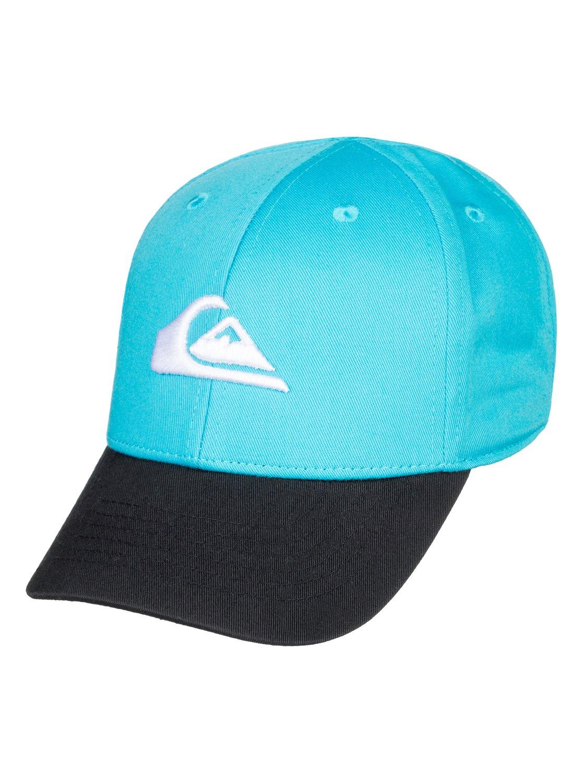 0 Baby Decades Snapback Hat Blue AQIHA03060 Quiksilver 1d9a0f3684d