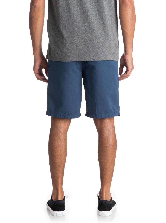 para Quiksilver AQMWS03058 tipo Maldive Azul Hombre Pantalones Waterman 4 Chino cortos pwHY7qYx