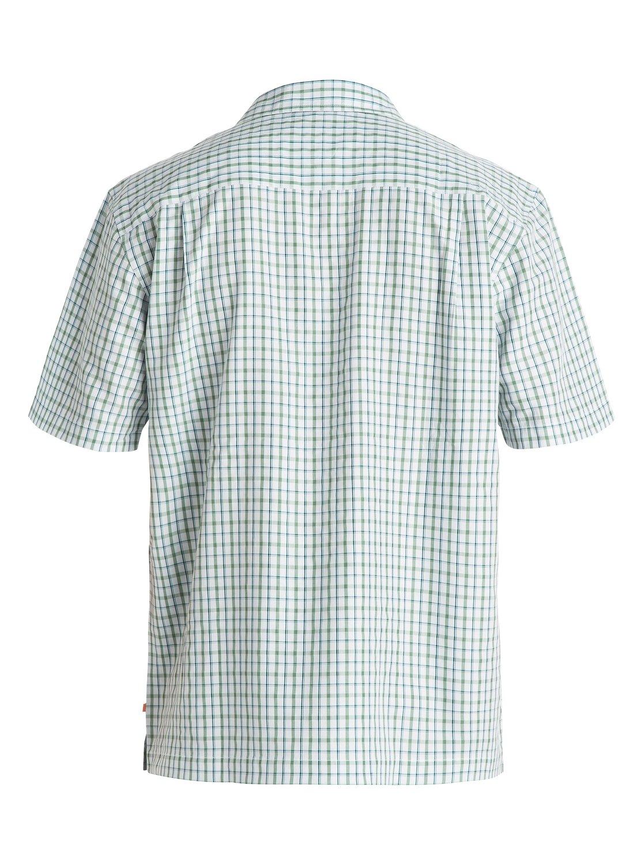 e62d325d93c01 1 Men s Granada Short Sleeve Shirt Blue AQMWT03097 Quiksilver