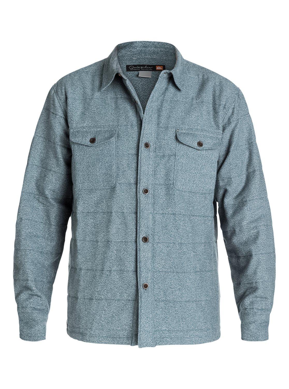 de Hombre Quiksilver Ridgewood Camisa AQMWT03104 Cazadora 0 wHWUTqZx