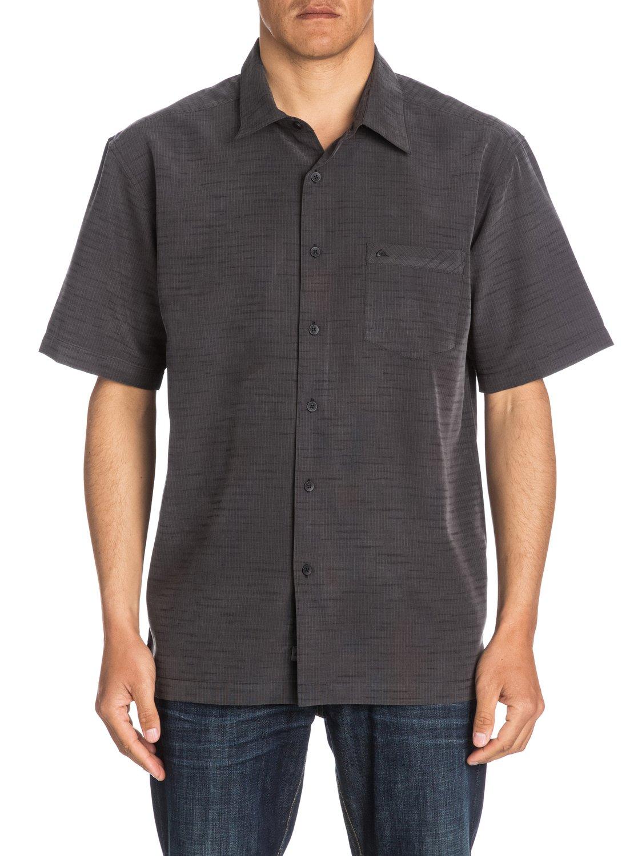 1f6d0f6fd0 0 Waterman Centinela Short Sleeve Shirt Black AQMWT03106 Quiksilver