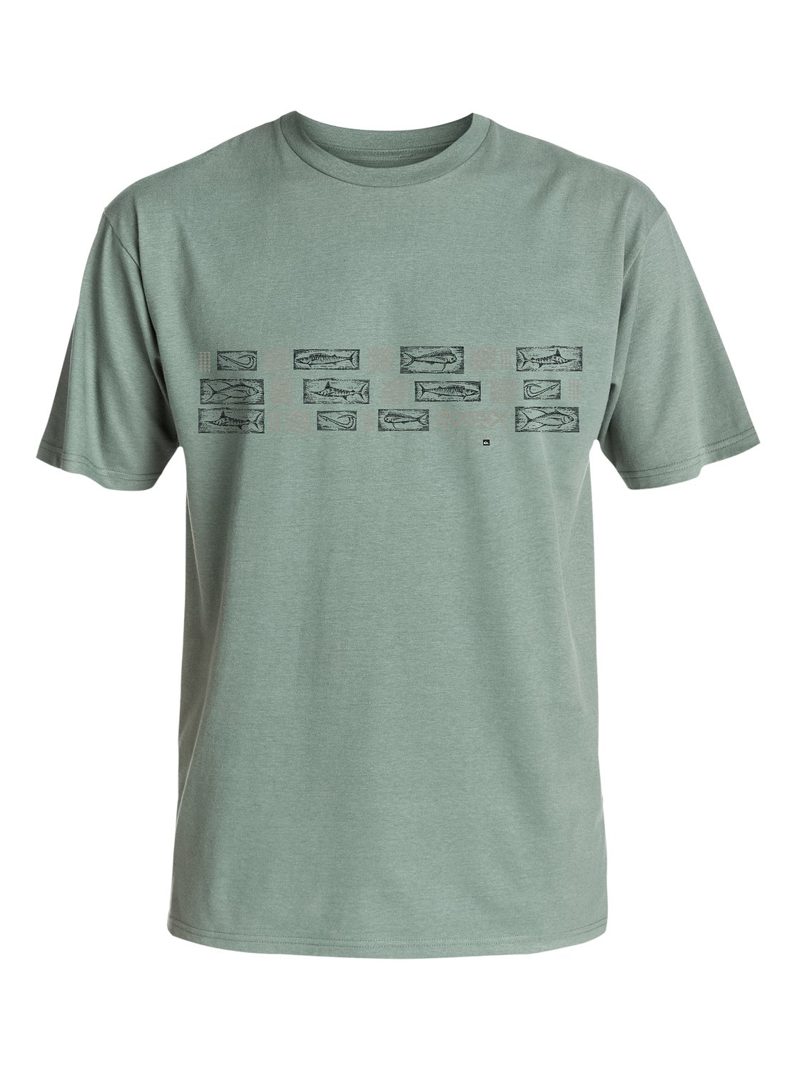 Quiksilver Waterman Collection Hopa Aina Band S//S T-Shirt Tee Sz Large