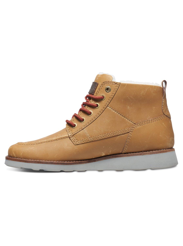 Quiksilver Sheffield - Mens Chaussures À Lacets, Brun, 39
