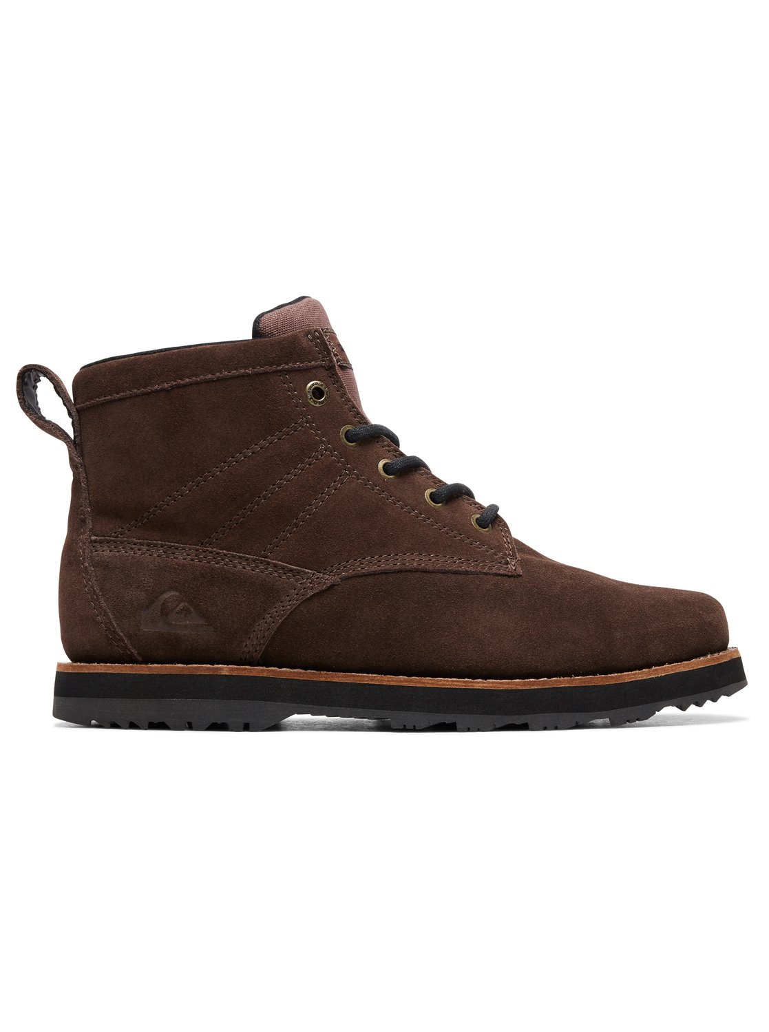 48e087382ce5c 1 Gart - Water-Resistant Lace-Up Boots for Men Brown AQYB700035 Quiksilver