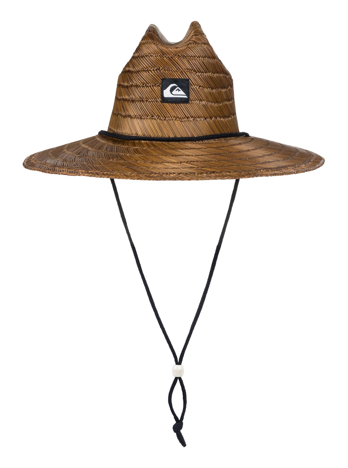 573fdaa4d03ca 0 Pierside Straw Lifeguard Hat Brown AQYHA00145 Quiksilver
