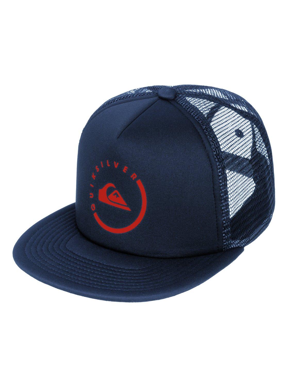 5dec53d13ac42 0 Everyday Eclipse Trucker Hat AQYHA03120 Quiksilver