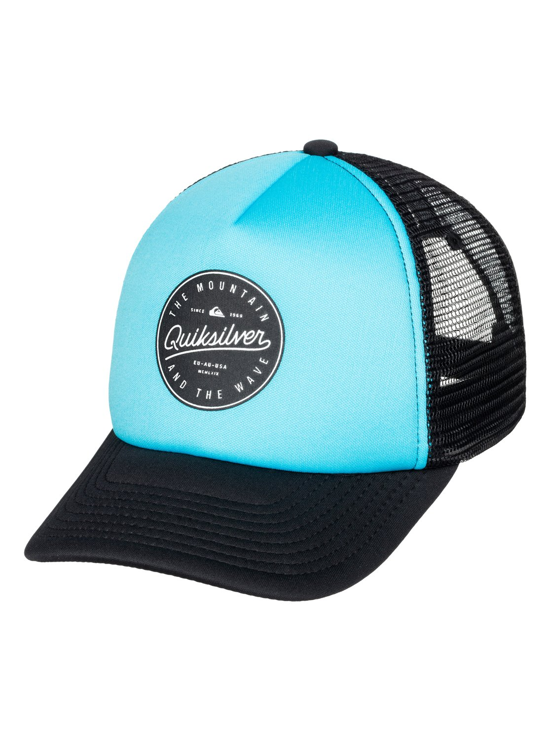 0 Foam Ball Trucker Hat AQYHA03469 Quiksilver 760279fdfc3