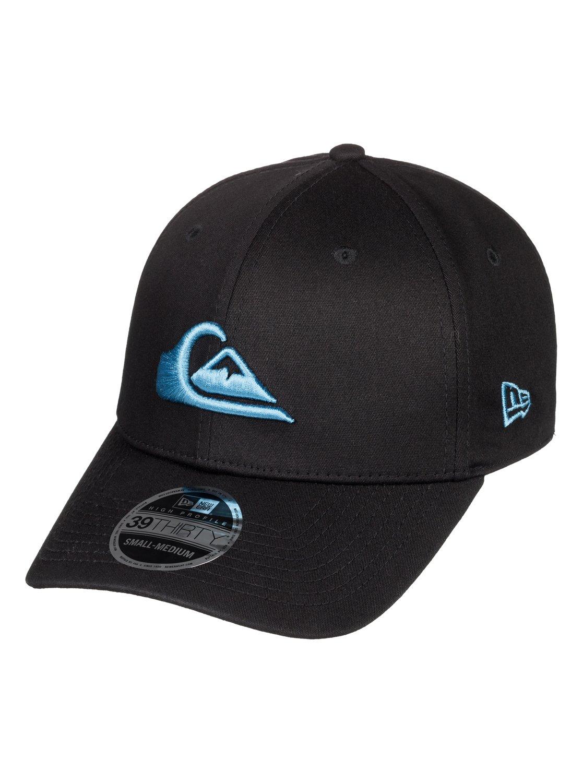 a8d2f3a97ac 0 Mountain   Wave New Era® Stretch Fit Hat Blue AQYHA03487 Quiksilver