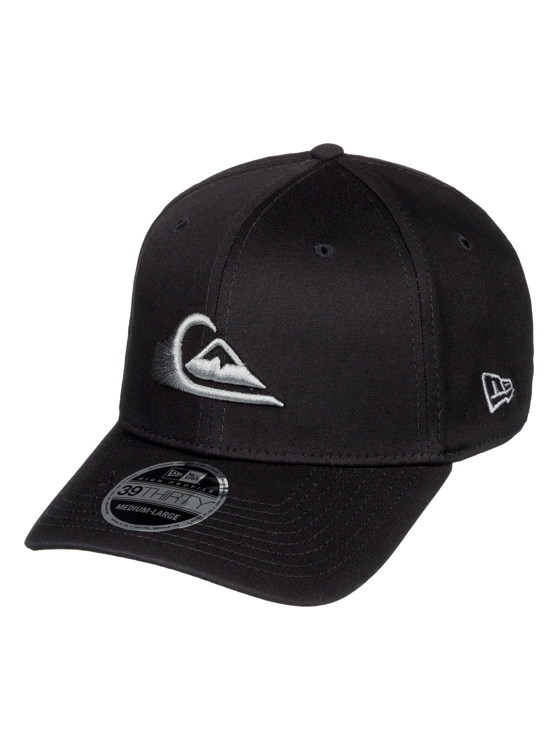 new style 5a7e8 833ab ... germany 0 mountain wave new era stretch fit cap for men grey aqyha03487  quiksilver 9d949 dd327