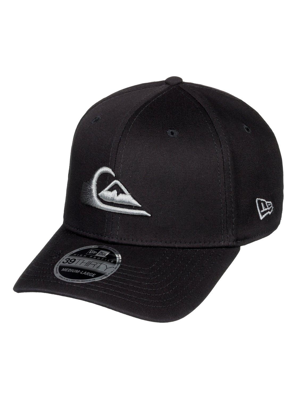 adab4451 ... germany 0 mountain wave new era stretch fit cap for men grey aqyha03487  quiksilver 9d949 dd327