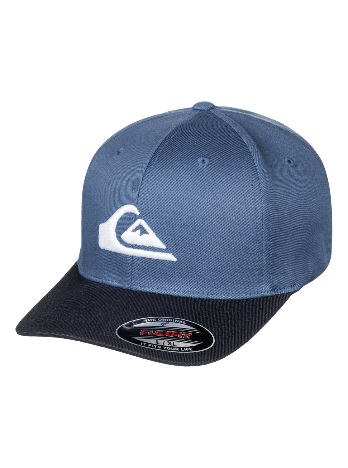 best website 4533e 8a682 germany 0 mountain and wave flexfit cap blue aqyha03630 quiksilver eac98  d6ef4