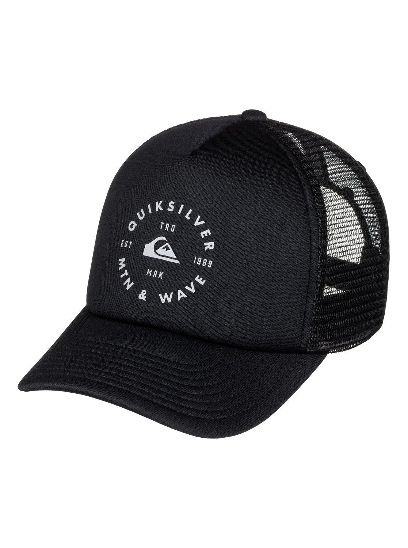 0 Foamblast Trucker Hat AQYHA03717 Quiksilver 0230b10d74b