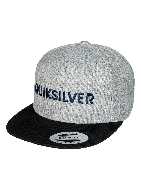 0 Top Shelfer - Snapback Cap AQYHA03736 Quiksilver 30ed1e751a7f