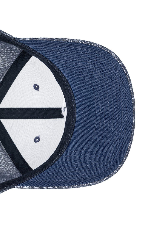 size 40 6ee8f 17277 3 Decades Plus - Snapback Cap for Men Blue AQYHA03838 Quiksilver