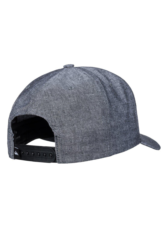Quiksilver-Charger-Plus-Snapback-Cap-Casquette-snapback-Homme