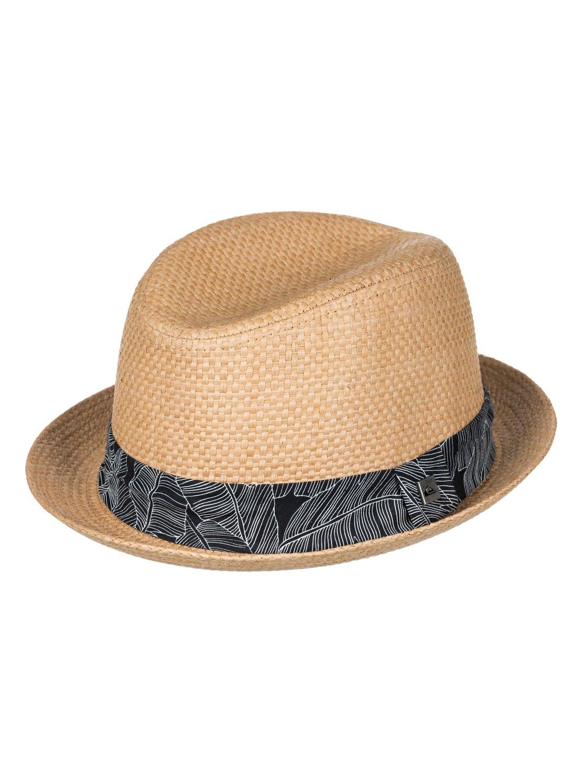 0 Schralpsten - Sombrero Borsalino de Paja para Hombre AQYHA04026 Quiksilver 62e9c759cb50