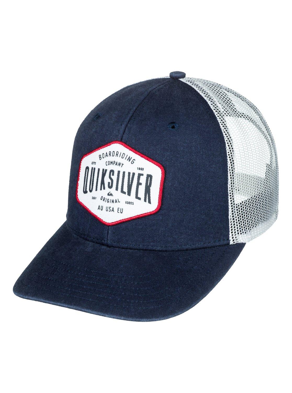 8e0a3e9fbfd77 ... new arrivals 0 steel hander trucker hat blue aqyha04062 quiksilver  b1d96 4336a