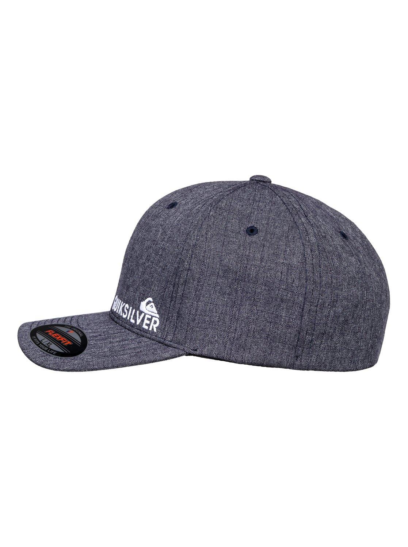 shop quiksilver mens sidestay hat black heather f0abe bf996  official store  1 sidestay flexfit cap for men blue aqyha04121 quiksilver 77de5 5d63b 613e08f12035