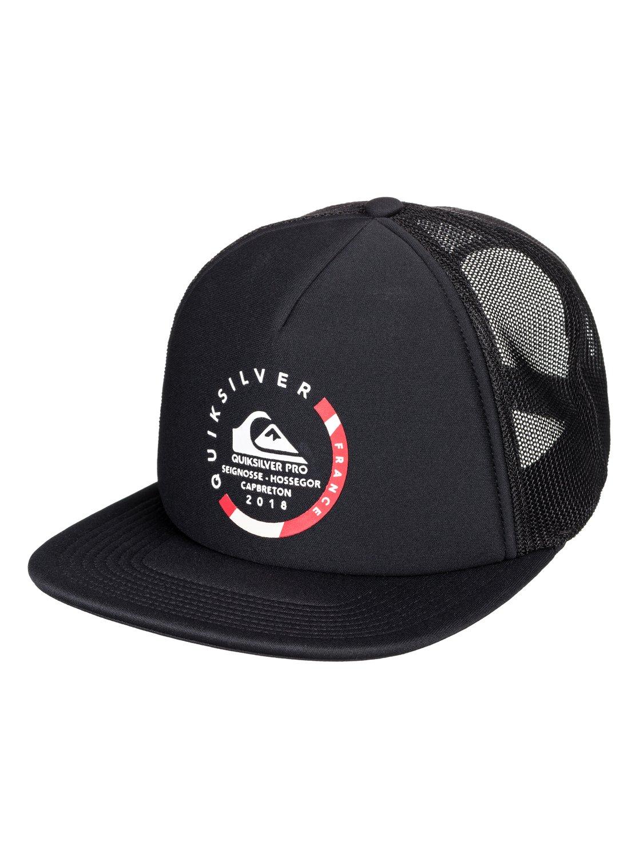 0 Quik Pro France - Trucker Hat for Men Black AQYHA04170 Quiksilver ce4e0c3251f1