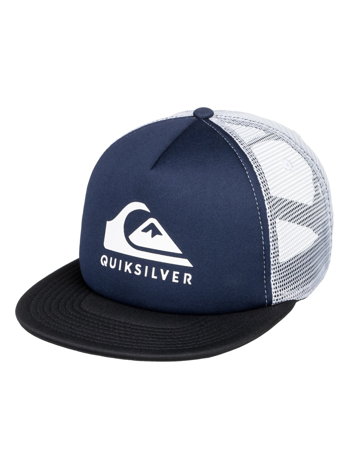 0 Foamslay - Trucker Cap for Men Blue AQYHA04196 Quiksilver c7dd66b6654