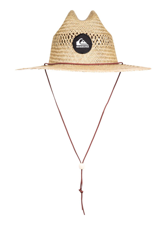 0 Pierside Slimbot - Cappello da Bagnino in Paglia da Uomo Yellow  AQYHA04229 Quiksilver 7592ea420e30