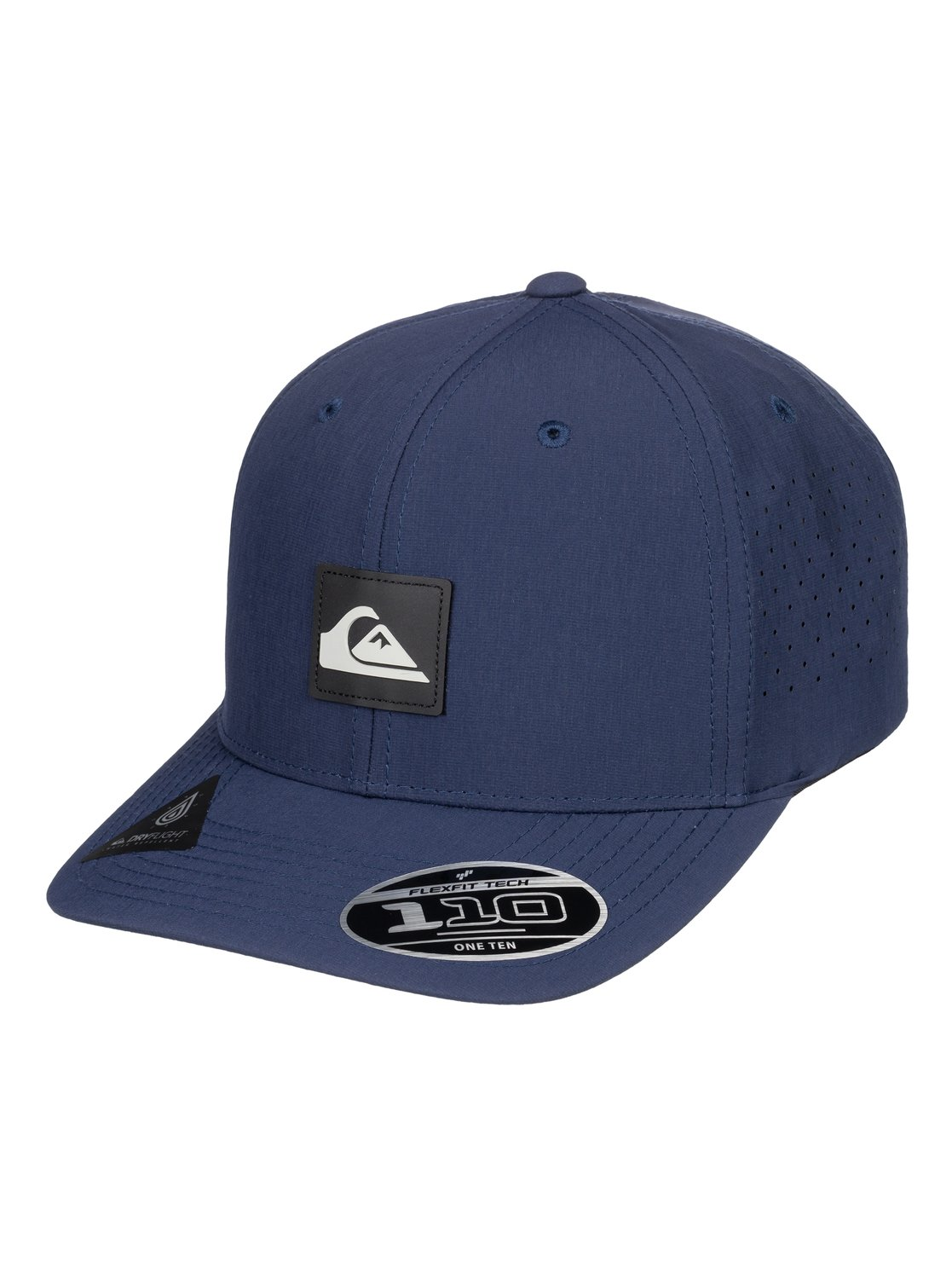 275b4626856 0 Adapted - Amphibian Strapback Cap for Men Blue AQYHA04295 Quiksilver