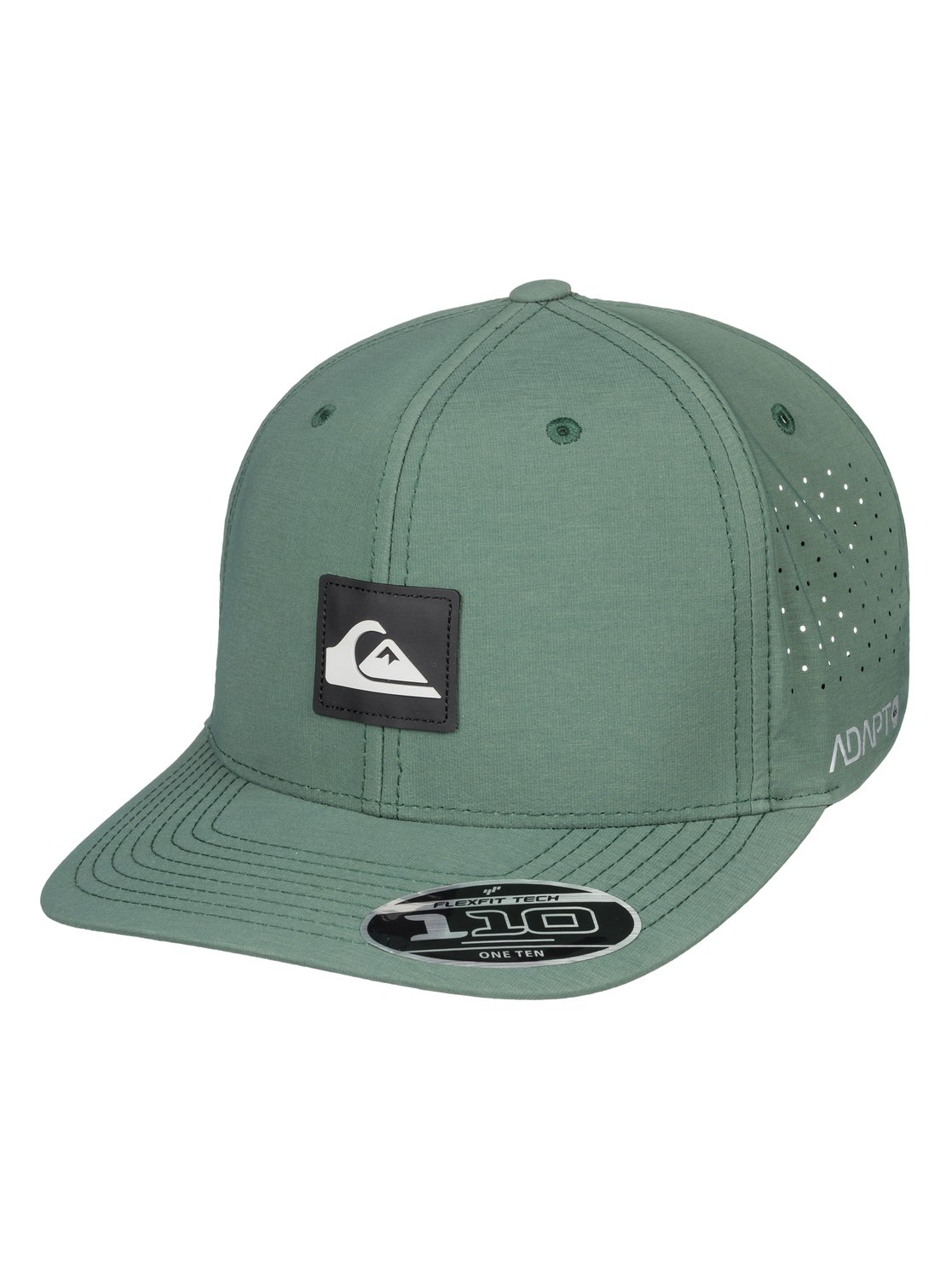 be517e638ff 0 Adapted - Amphibian Strapback Cap for Men Green AQYHA04295 Quiksilver