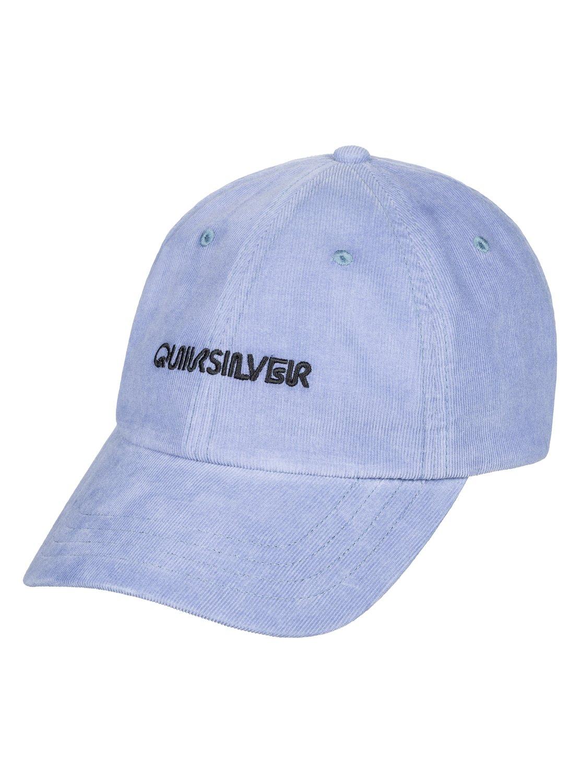 6ba7be233a1 0 Labeled - Dad Cap for Men Blue AQYHA04322 Quiksilver