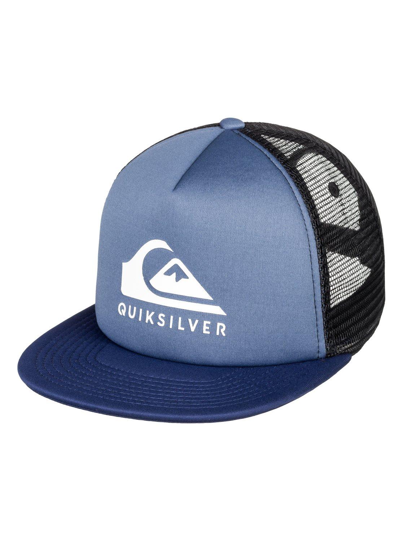 0 Foamslay - Gorra Trucker para Hombre Azul AQYHA04333 Quiksilver d35724c67fb