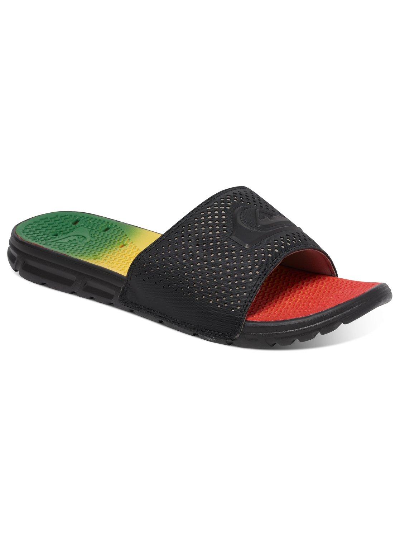 3409a4755fe Tutto Quiksilver Flip Flops Mens Green Prodotto