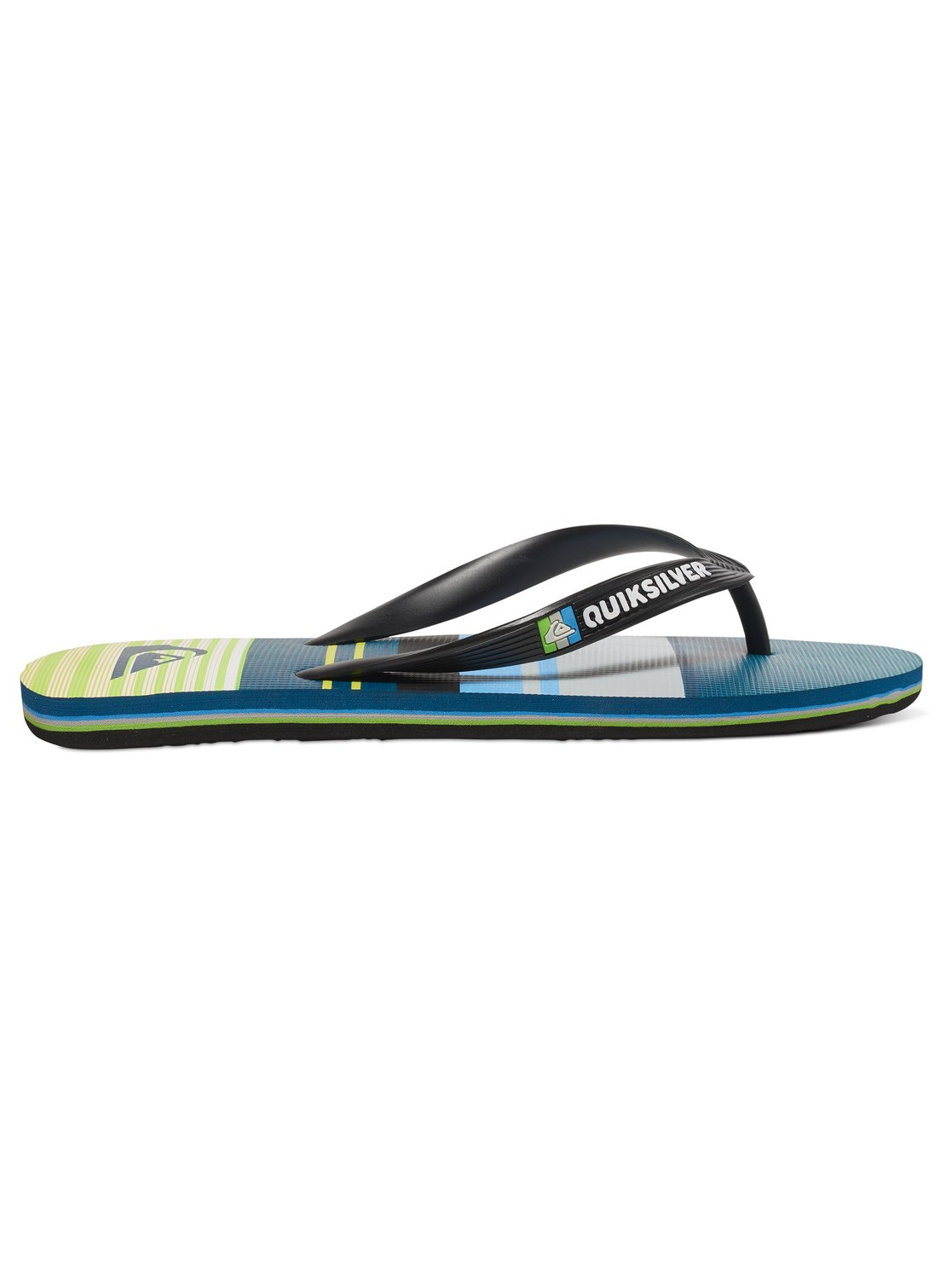 1 Molokai Everyday Stripe - Chancletas Negro AQYL100234 Quiksilver 7817371557