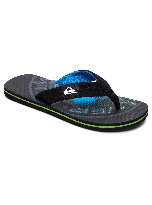 acc3d0e55b13 0 Molokai Layback - Sandals for Men Black AQYL100560 Quiksilver