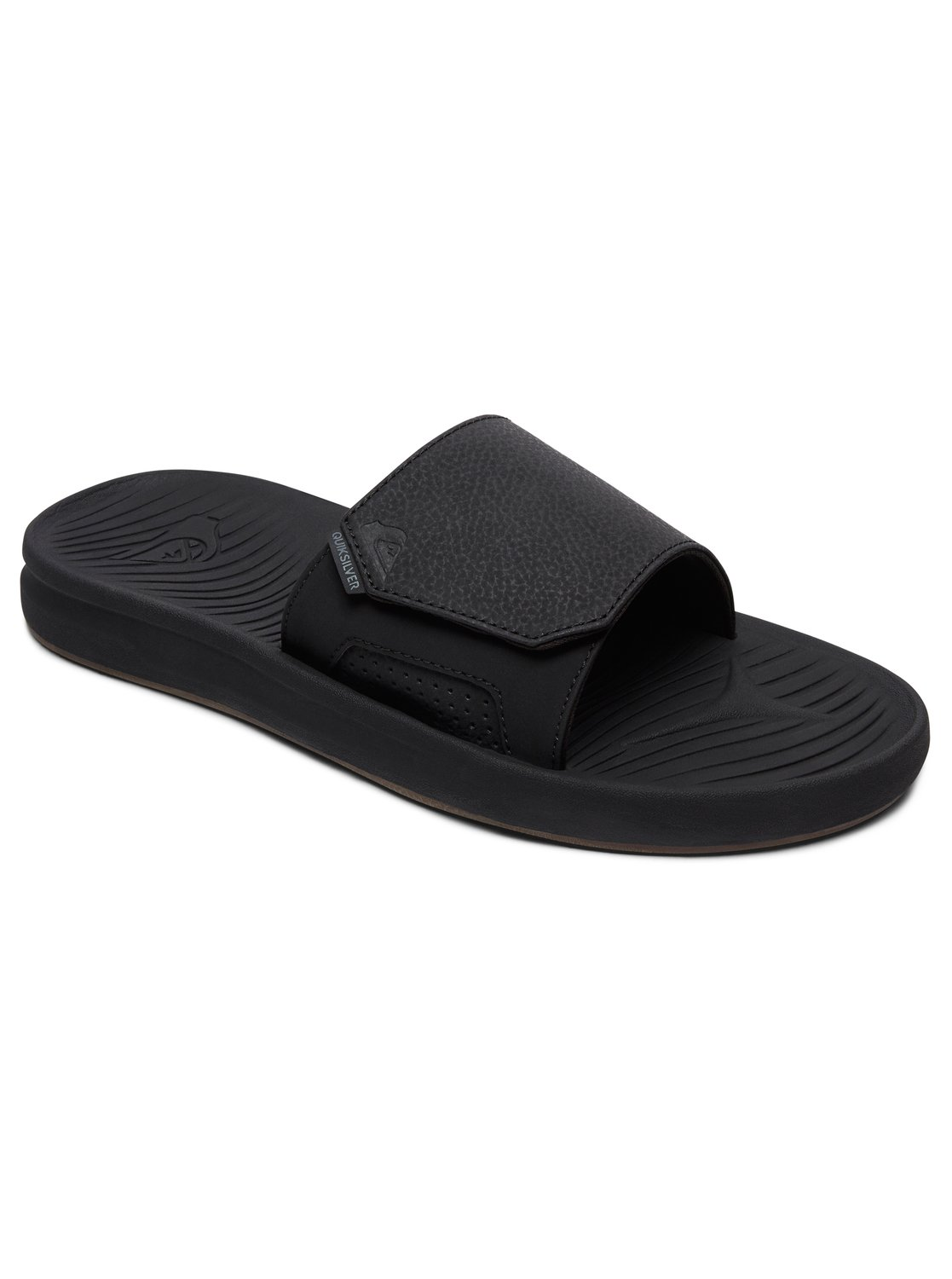 0d07ab40768ea4 0 Travel Oasis Slide - Slider Sandals for Men Black AQYL100586 Quiksilver