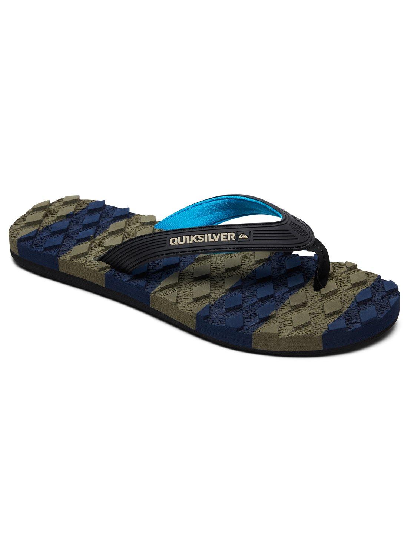 de8de2c3b09d 0 Massage - Sandals for Men Black AQYL100637 Quiksilver